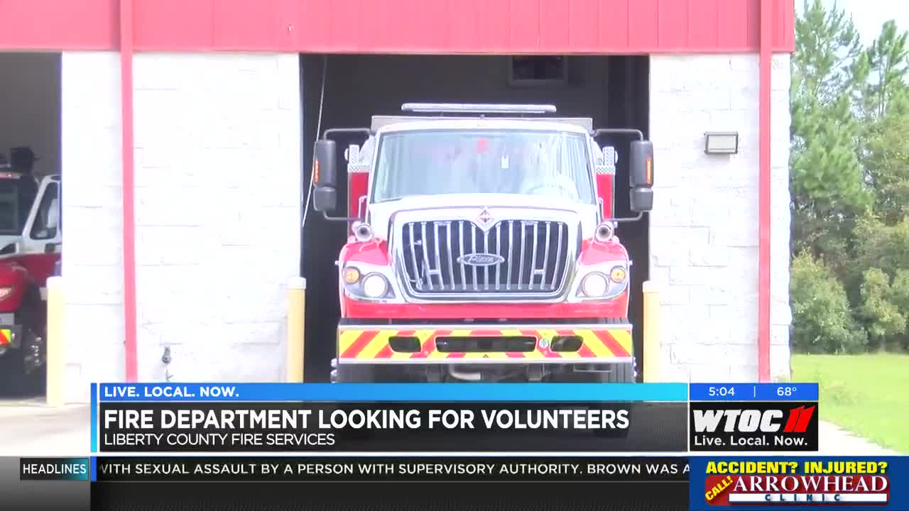 Liberty County Fire Services gets stipend to pay volunteers