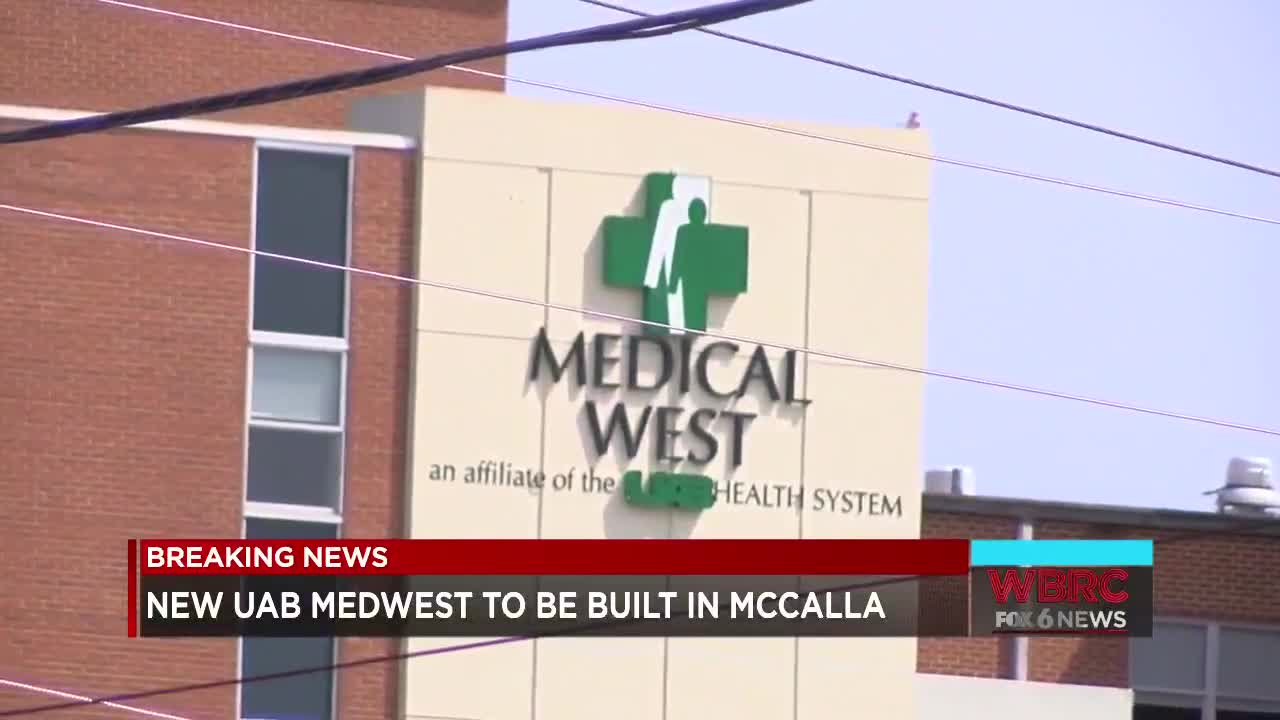 UAB to build new MedWest hospital off of I-459 Exit 1 in McCalla