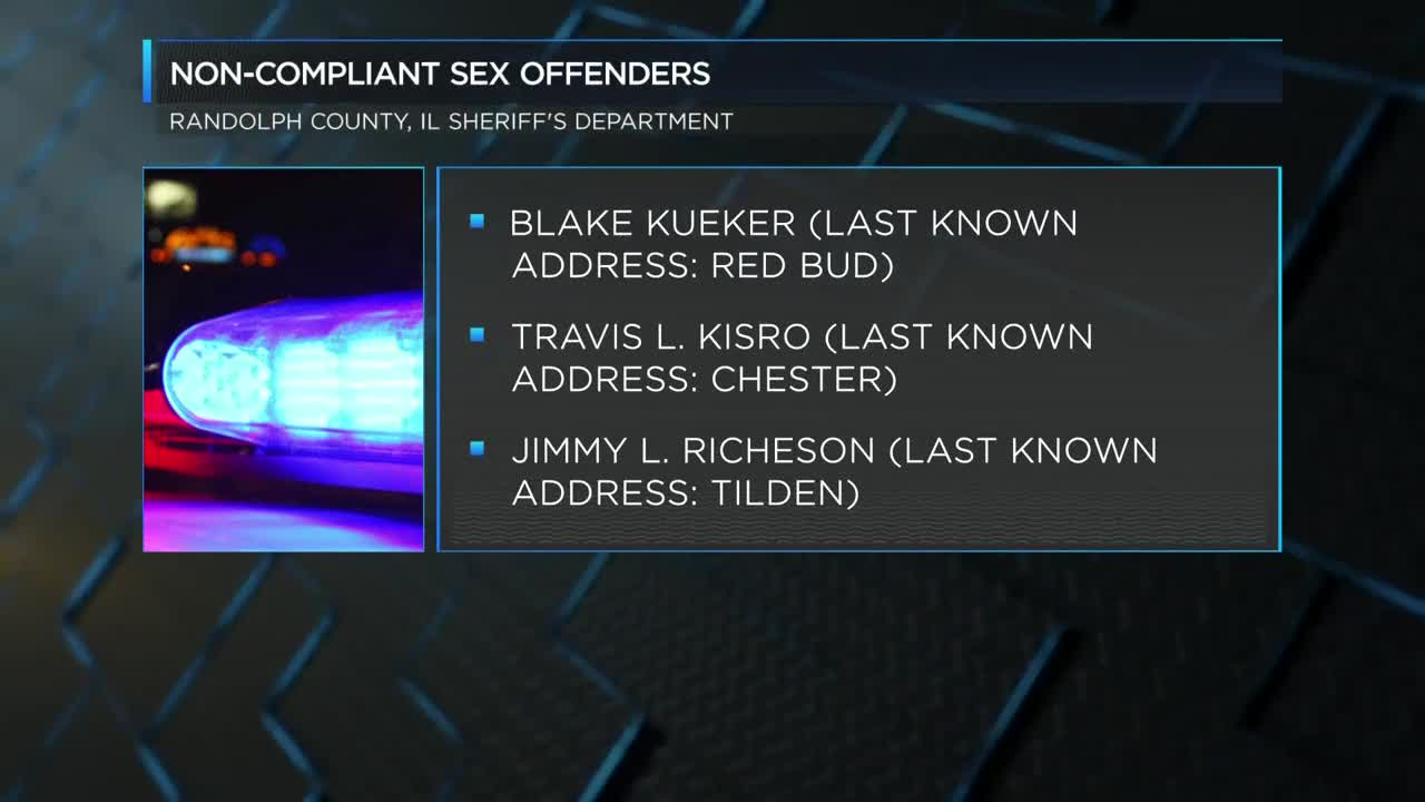 Multiple agencies work sex offender compliance check in