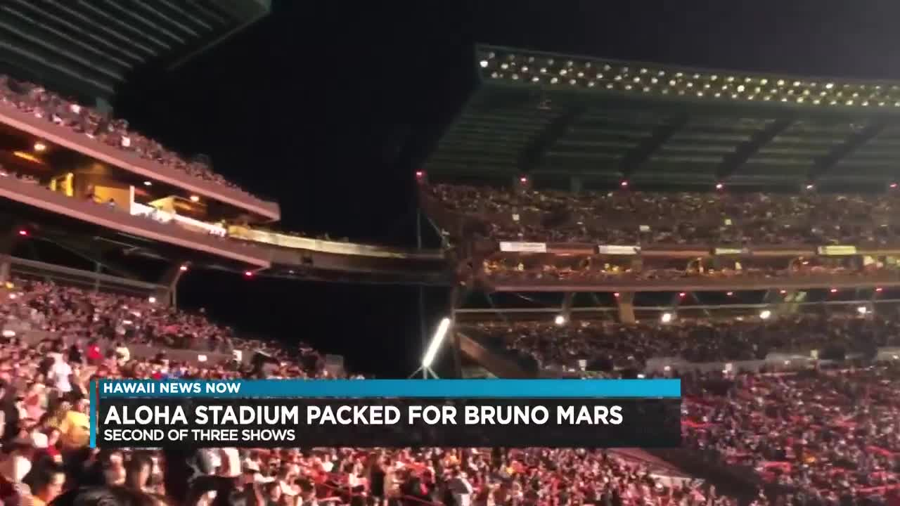 Bruno Mars brings the house down with some 'finesse' at second concert