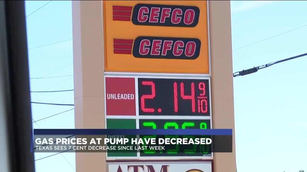 Gas Prices In Texas >> Officials Say Gas Prices To Remain Low For Thanksgiving Break