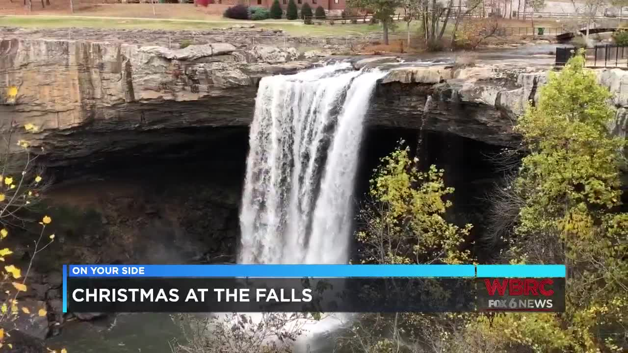 Christmas at the Falls in Gadsden