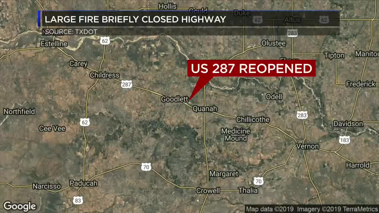 US 287 reopened west of Quanah after smoke from fire Quanah Texas Map on big bend national park texas map, chicago texas map, killeen texas map, thalia texas map, pearland texas map, texas texas map, st jo texas map, englewood texas map, nordheim texas map, nacogdoches texas map, estelline texas map, copano texas map, texline texas map, iraan texas map, altus texas map, del rio texas map, rio hondo texas map, lueders texas map, post texas map, quitaque texas map,