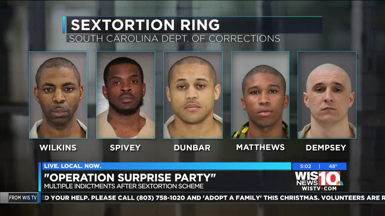 15 ID'd in 'sextortion' scheme involving inmates in SC, NC