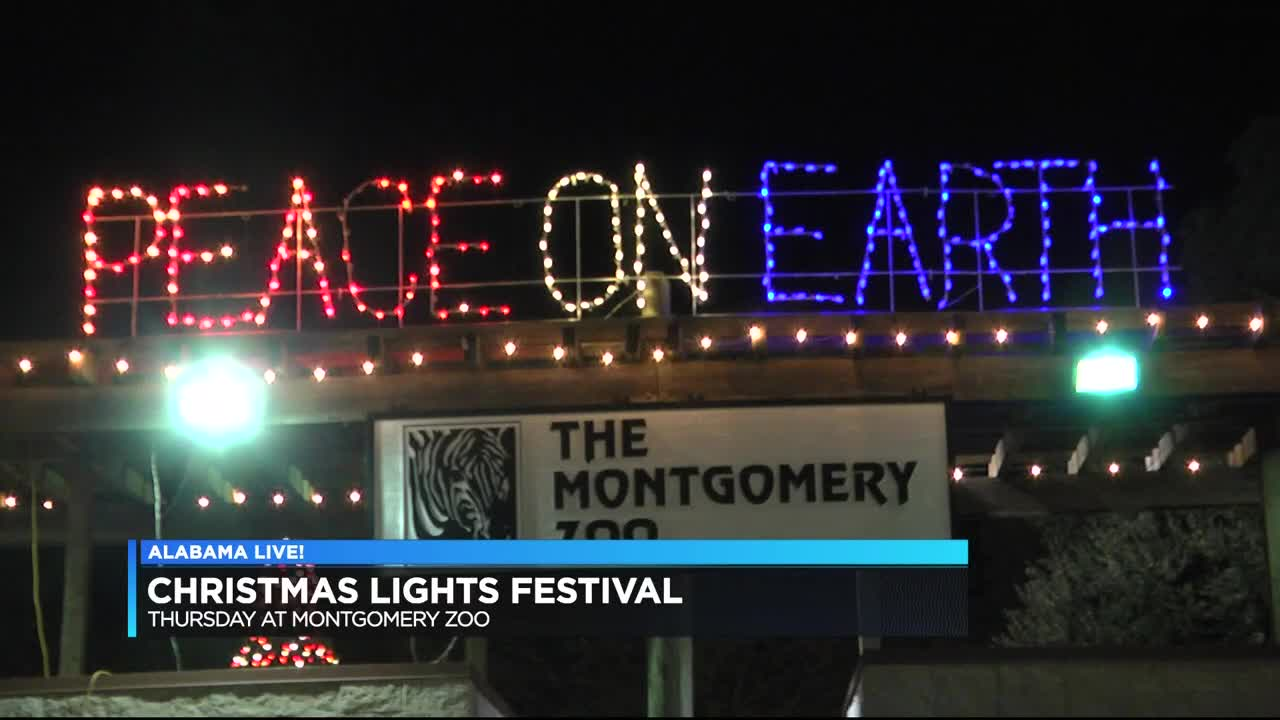 Montgomery Zoo Christmas Lights 2020 Montgomery Zoo's 2018 Christmas Lights Festival set to begin