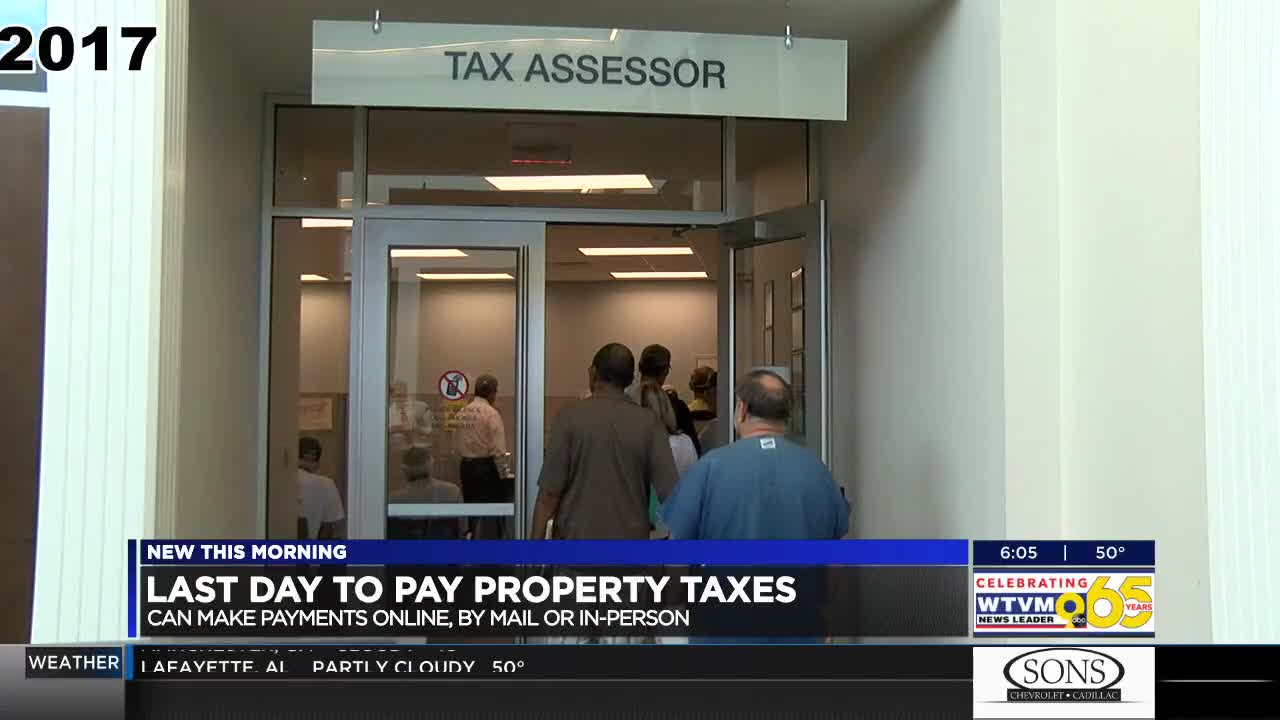 Deadline to pay property taxes in Muscogee Co  rapidly