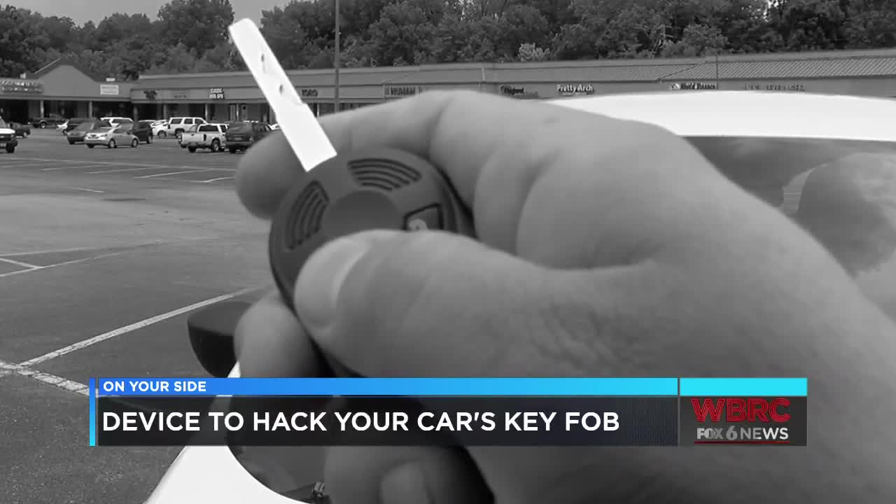 Police explain ways to protect your car key fob from being