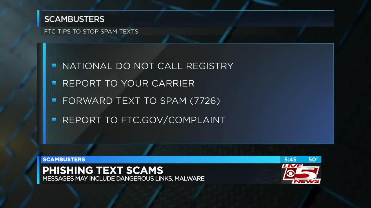 Live 5 Scambusters Stopping The Texting Scams