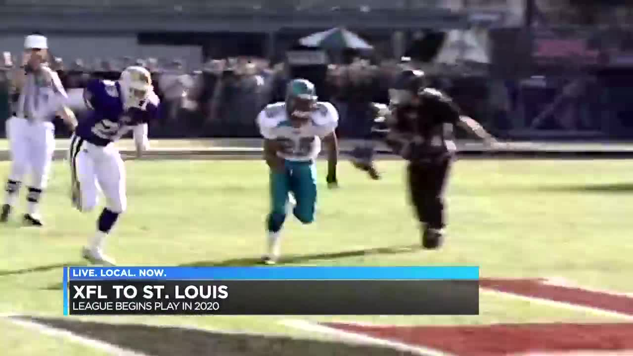 st louis xfl team
