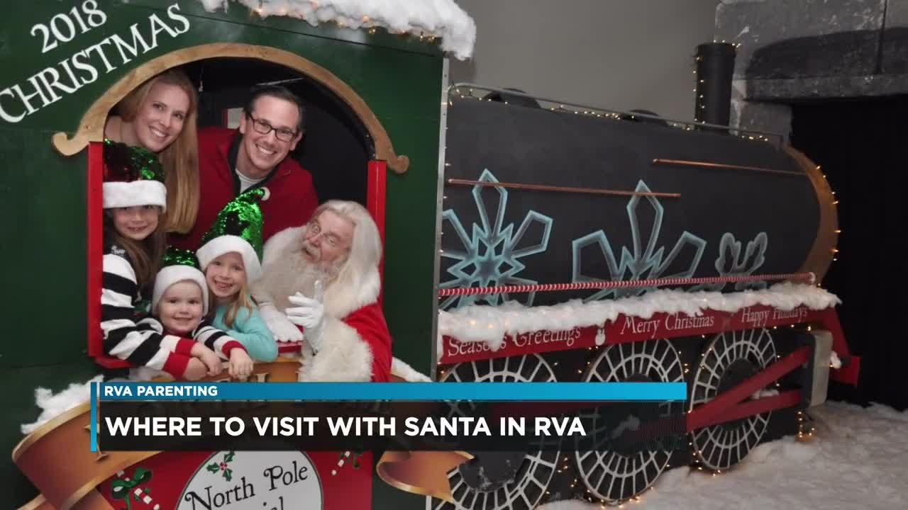 Santa roundup: Where to see the Jolly Old Elf in Central Virginia