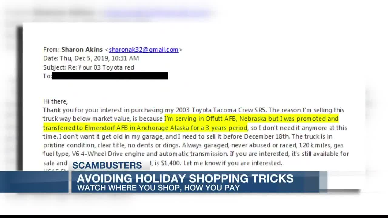 Live 5 Scambusters Lowcountry Man Falls Victim To Online Vehicle Scam Through Ebay Motors