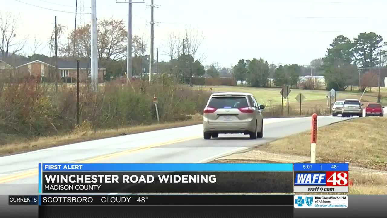 Winchester Road gets $6 6 million widening project