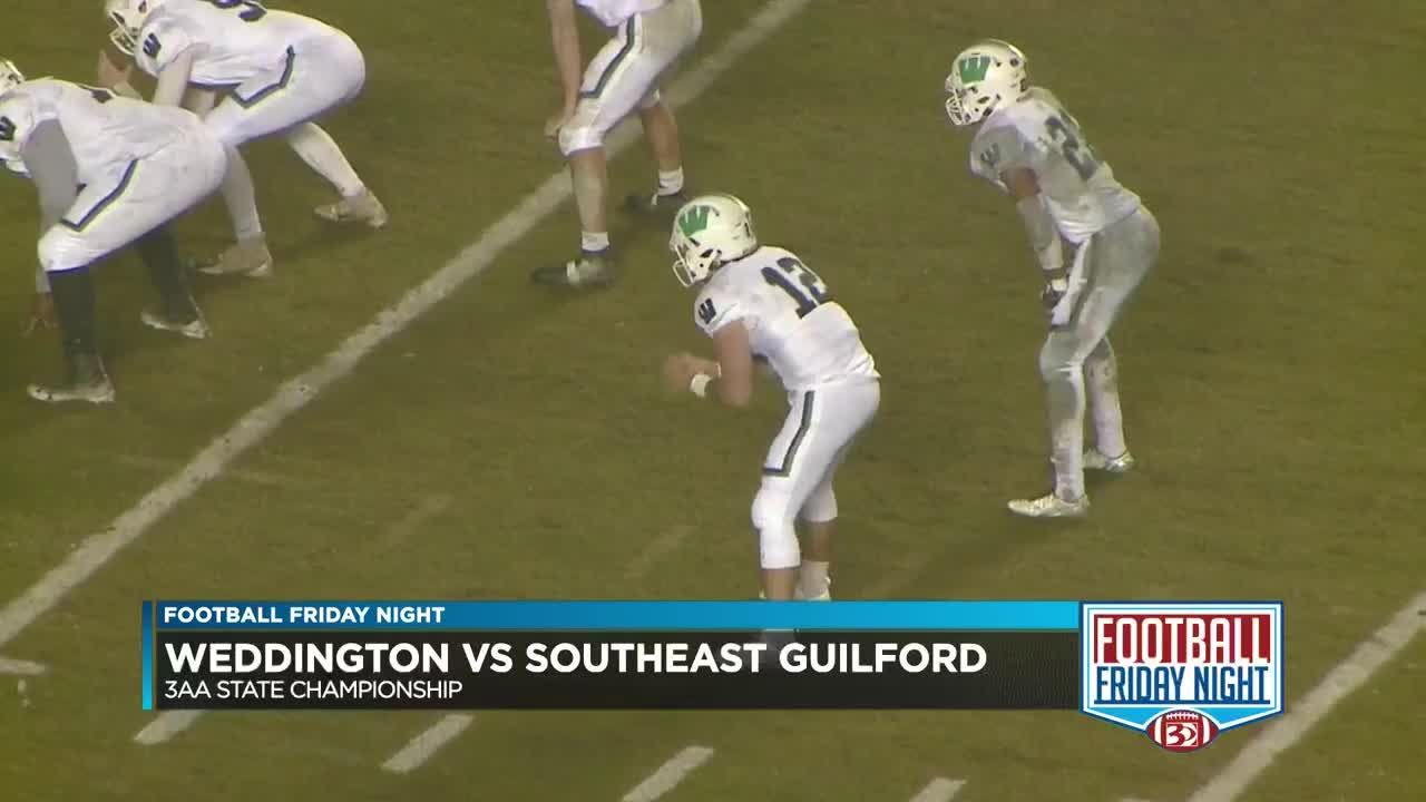 Weddington Blitzes By Southeast Guilford To Win Second Title