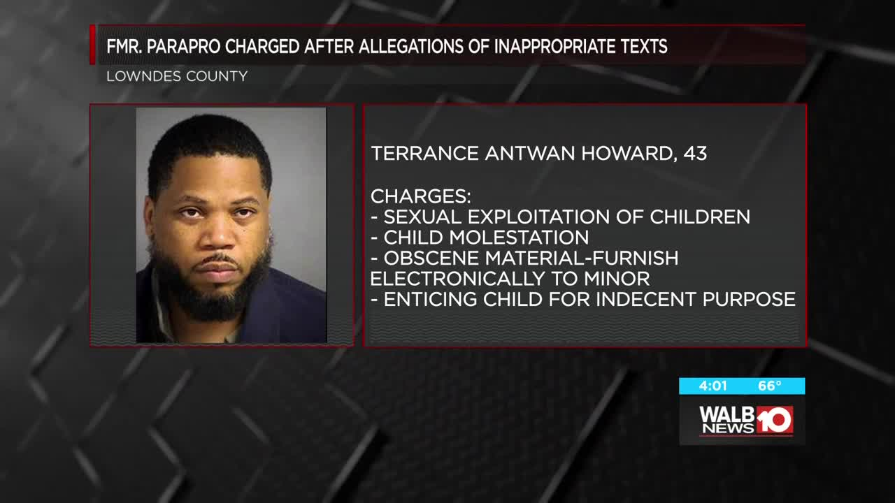Former Lowndes Co Schools Employee Arrested For Inappropriate Texts