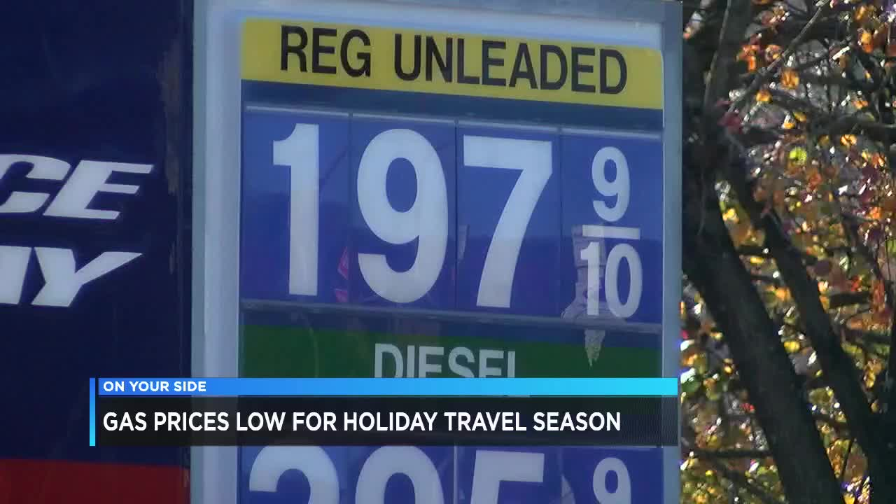 Low Gas Prices >> Drivers Given Gift Of Lower Gas Prices This Holiday Season