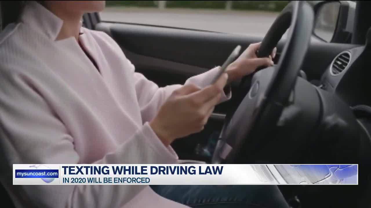 Texting While Driving >> Texting While Driving Law To Be Enforced This Upcoming Year